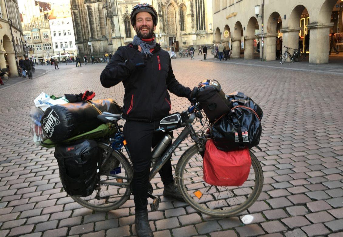Ohne Geld durch Deutschland mit dem Fahrrad